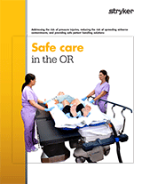 OR Pressure Injury and Safe Patient Handling Solutions Brochure
