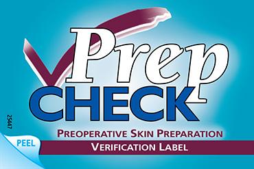 PrepCheck Label