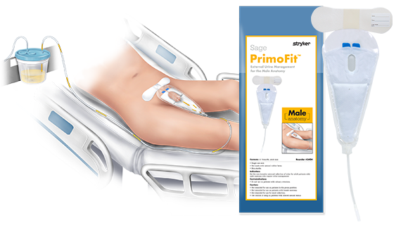 Sage PrimoFit™ External Urine Management for the Male Anatomy