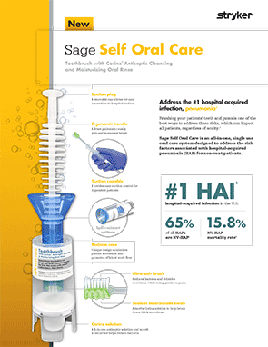 Sage Self Oral Care brochure
