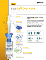 Sage Self Oral Care Brochure